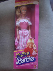 my first Barbie