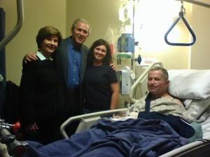 Bush's Guilt Shows