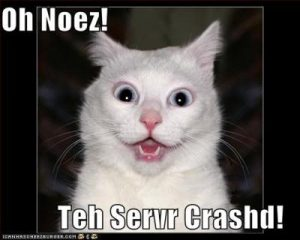 servercrashed
